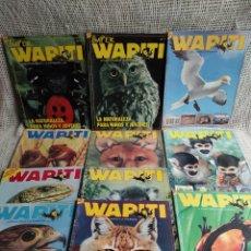 Coleccionismo de Revistas y Periódicos: WAPITI, LA ATENTA MIRADA A LA NATURALEZA - LOTE 15 EJEMPLARES. Lote 294950343