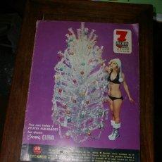 Coleccionismo de Revistas y Periódicos: 7 FECHAS SUPLEMENTO NAVIDAD 1974 UN DOS TRES RESPONDA OTRA VEZ. Lote 295283343