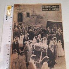 Coleccionismo de Revistas y Periódicos: LA COMITIVA ANTE LA PRISION DEL PARTIDO. Lote 295284278