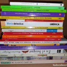Coleccionismo de Revistas y Periódicos: GRAN LOTE 19 LIBROS. LITERATURA INFANTIL Y JUVENIL. MUY BUEN ESTADO. Lote 295517263