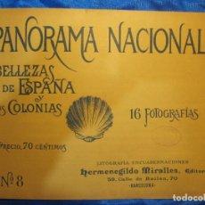 Coleccionismo de Revistas y Periódicos: PANORAMA NACIONAL Nº 8. VISTA DEL GRAJAL, PALENCIA. TAMBIÉN SANGÜESA . H. MIRALLES EDITOR,1896.. Lote 295726413