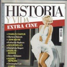 Coleccionismo de Revistas y Periódicos: REVISTA HISTORIA Y VIDA Nº 13. EXTRA CINE. EL HOLLYVOOD DE ORO.. Lote 295811048