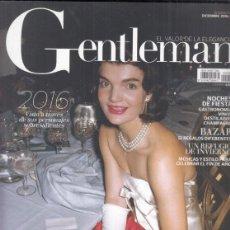 Coleccionismo de Revistas y Periódicos: REVISTA GENTLEMAN Nº 146 AÑO 2016. ETERNA JACKIE.. Lote 295814018