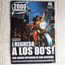 Coleccionismo de Revistas y Periódicos: 2000 MANIACOS Nº 48. Lote 295822243