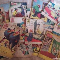 Coleccionismo de Revistas y Periódicos: LOTE DE 37 REVISTAS HUMOR - RICO TIPO - 1950 A 1954. Lote 295824363