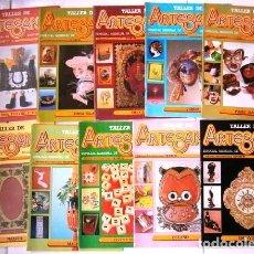 Coleccionismo de Revistas y Periódicos: LOTE REVISTAS TALLER DE ARTESANÍA 10R / J. ANTONIO Y J. LUIS VALVERDE / ED. IBEROAMERICANAS QUORUM. Lote 295828843