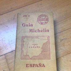 Collezionismo di Riviste e Giornali: GUÍA MICHELÍN ESPAÑA 1914. Lote 295925928