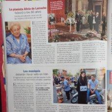 Coleccionismo de Revistas y Periódicos: ALICIA KEYS LARROCHA MATT DILLON ALEJANDRO SANZ. Lote 296624113