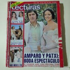 Coleccionismo de Revistas y Periódicos: LECTURAS 1258 AMPARO MUÑOZ ANDION ROCIO JURADO HEIDI TONY RONALD LOLA FLORES LA ESPUELA. Lote 297099968