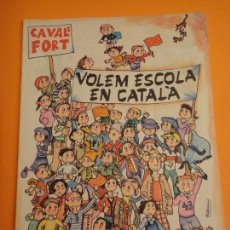 Coleccionismo de Revistas y Periódicos: REVISTA PER A NOIS I NOIES . CAVALL FORT Nº 336. Lote 297101453