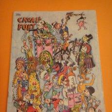 Coleccionismo de Revistas y Periódicos: REVISTA PER A NOIS I NOIES . CAVALL FORT Nº 396. Lote 297101588