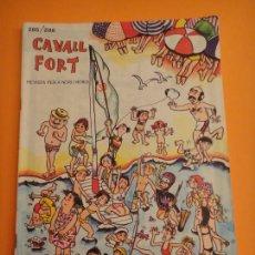 Coleccionismo de Revistas y Periódicos: REVISTA PER A NOIS I NOIES . CAVALL FORT Nº 285-286. Lote 297101663