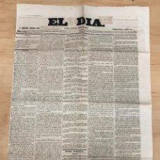 Coleccionismo de Revistas y Periódicos: GACETA POLITICA INDEPENDIENTE EL DIA. Nº 354. ENERO 1860. Lote 297175928