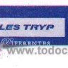 Sobres de azúcar de colección: 25-385. HOTELES TRYP. ALARGADO. Lote 3414377