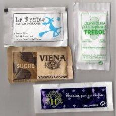 Sobres de azúcar de colección: SOBRES DE AZUCAR LLENOS. Lote 3703720