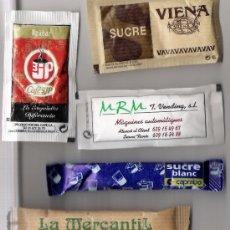 Sobres de azúcar de colección: SOBRES DE AZUCAR LLENOS. Lote 3703742