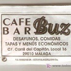 Sobres de azúcar de colección: CAFE BAR BUZ. Lote 6205225