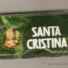 Sobres de azúcar de colección: CAFES SANTA CRISTINA. Lote 8164331