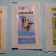 Sobres de azúcar de colección: COLECCIÓN DE TRES SOBRES DE AZUCAR. Lote 8805568