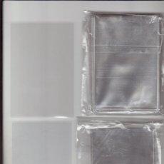 Sobres de azúcar de colección: 100 FUNDAS INDIVIDUALES PARA CALENDARIOS, CROMOS, LOTERÍA, ONCE, POSTALES, SELLOS. TENGO MAS MEDIDAS. Lote 98800844