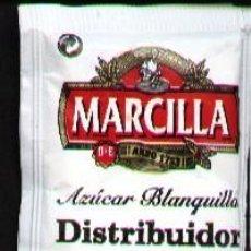 Sobres de azúcar de colección: SOBRE DE AZUCAR CAFE MARCILLA. Lote 11871230