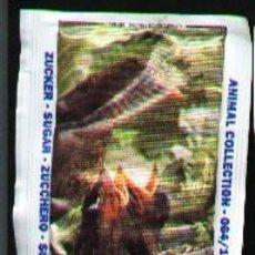Sobres de azúcar de colección: SOBRE DE AZUCAR DE IMAGEN DE ANIMALES