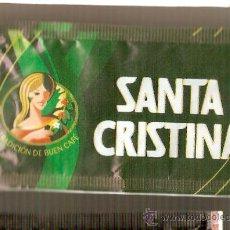 Sobres de azúcar de colección: CAFES SANTA CRISTINA. Lote 12590233