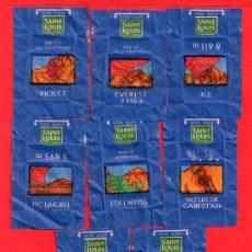 Sobres de azúcar de colección: OCHO SOBRES DE AZUCAR SAINT LOUIS. Lote 27649948