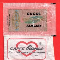 Sobres de azúcar de colección: TRES SOBRE DE AZUCAR VARIOS. Lote 27697413