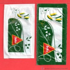 Sobres de azúcar de colección: DOS SOBRE DE AZUCAR NOVADELTA PORTUGAL. Lote 27825505