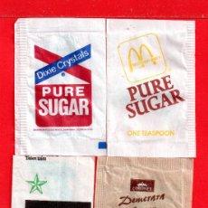 Sobres de azúcar de colección: CUATRO MARCAPÁGINAS EDITORIAL GRUPO CERO TODOS DIFERENTE FOTOS ADICIONAL. Lote 27847572