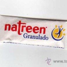 Sobres de azúcar de colección: SOBRE DE NATREEN GRANULADO (PESO NETO: 0,6 GRAMOS). Lote 30758214