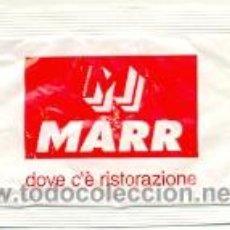 Sobres de azúcar de colección: 25-1003. SOBRE DE AZUCAR. MARR DOVE DE RISTORAZIONE (ITALIA). Lote 31676798