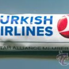 Sobres de azúcar de colección: SOBRE AZUCARILLO - AIRLINES TURKISH - LINEAS AEREAS TURCAS - TURQUIA - CON AZUCAR. Lote 32451880