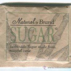 Sobres de azúcar de colección: SOBRE DE AZUCAR - AZUCARILLO DE HOUSTON, ESTADOS UNIDOS - CON AZUCAR. Lote 32451975