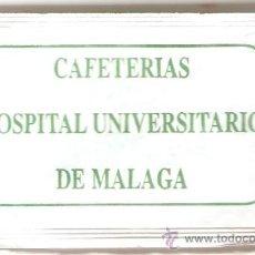Sobres de azúcar de colección: SOBRE DE AZUCAR HOSPITAL UNIVERSITARIO DE MALAGA. Lote 33002767