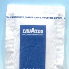 Sobres de azúcar de colección: SOBRE DE AZUCAR BULGARIA - AZUCARILLO - LAVAZZA - CON AZUCAR. Lote 33712704
