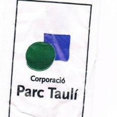 Sobres de azúcar de colección: PARC TAULI. Lote 42436936