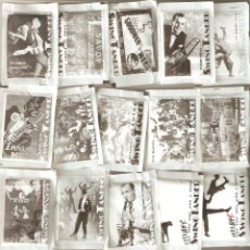 Sobres de azúcar de colección: 20 SOBRES DE AZÚCAR SERIE SWING TANDER (VACÍOS) . Lote 47412401