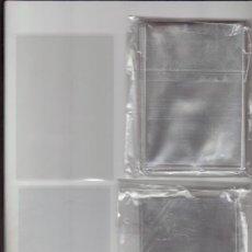 Sobres de azúcar de colección: 1 PAQUETE DE 100 FUNDAS INDIVIDUALES PARA DÉCIMOS LOTERÍA, ONCE, CROMOS, POSTALES, SOBRES AZUCAR. Lote 206228690