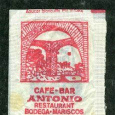 Sobres de azúcar de colección: SOBRE AZUCAR CAFE BAR ANTONIO CORDOBA. Lote 47645916