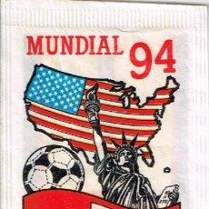 Bustine di zucchero di collezione: SOBRE DE AZUCAR SERIE MUNDIAL 94; SUIZA - BRASILIA 10GR.. Lote 48616088
