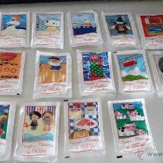 Sobres de azúcar de colección: PAISAJES Y PAISANAJES DE CANTABRIA - LOTE DE COLECCION COMPLETA 16 SOBRES - DROMEDARIO. Lote 56983043