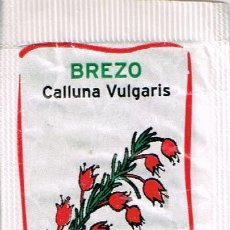 Sobres de azúcar de colección: SOBRE DE AZUCAR SERIE PLANTAS MEDICINALES; BREZO - CAFÉS SANTA CRISTINA, 9 GR.. Lote 49292782