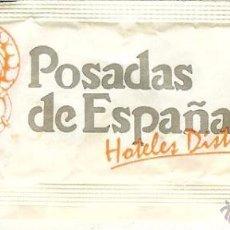 Pacotes de Açúcar de coleção: SOBRE DE AZÚCAR VACÍO - POSADAS DE ESPAÑA. Lote 50041795