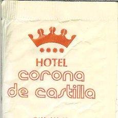 Pacotes de Açúcar de coleção: SOBRE DE AZÚCAR VACÍO - HOTELES CORONA DE CASTILLO Y REY ARTURO - BURGOS. Lote 50042003