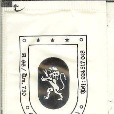 Pacotes de Açúcar de coleção: SOBRE DE AZÚCAR VACÍO - GRUPO LEO HOTELES - MONESTERIO (BADAJOZ). Lote 50042119
