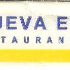 Pacotes de Açúcar de coleção: SOBRE DE AZÚCAR VACÍO - NUEVA ERA RESTAURANTES. Lote 50042293