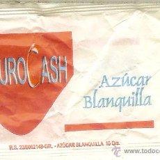 Pacotes de Açúcar de coleção: SOBRE DE AZÚCAR VACÍO - EURO CASH. Lote 50140030
