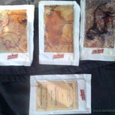 Bustine di zucchero di collezione: LOTE 4 SOBRE´S DE AZUCAR EL DROMEDARIO - CUEVAS DE CANTABRIA-LA PASIEGA + ALTAMIRA + LA GARMA + 1. Lote 51531680